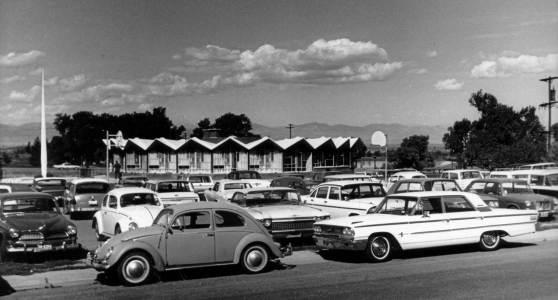 1960s photograph of First Universalist Church.