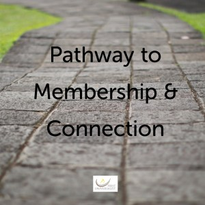 Pathway to membership and connection class for newcomers