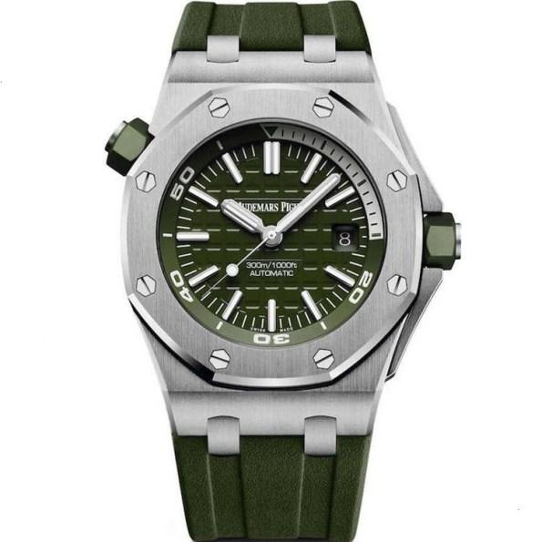 Replica Audemars Piguet Royal Oak Offshore Diver Khaki 15710ST.OO.A052CA.01 – Audemars Piguet Clone Watches