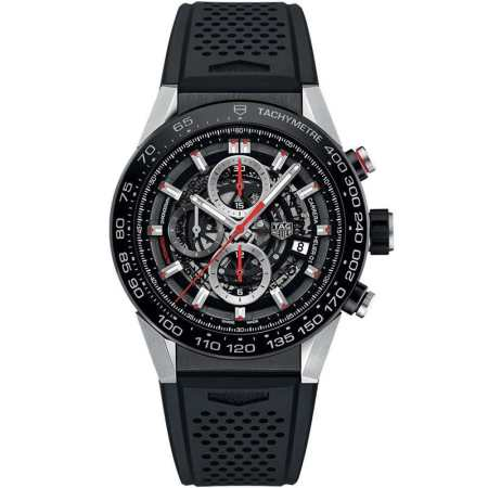 Replica TAG Heuer Carrera Calibre Heuer 01 Skeleton CAR2A1Z.FT6044 - TAG Heuer Clone Watches