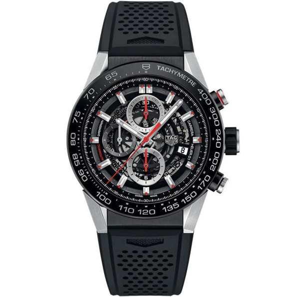 Replica TAG Heuer Carrera Calibre Heuer 01 Skeleton CAR2A1Z.FT6044 – TAG Heuer Clone Watches