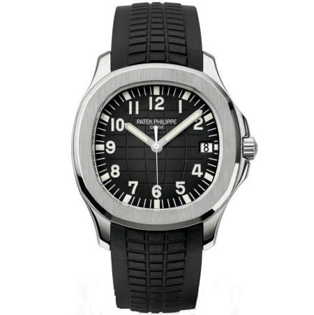 Replica Patek Philippe Aquanaut Black Dial 5167A-001 - Patek Philippe Clone Watches