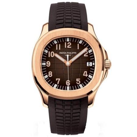 Replica Patek Philippe Aquanaut Rose Gold 5167R-001 - Patek Philippe Clone Watches