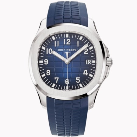 Replica Patek Philippe Aquanaut Blue Dial 5168G-001 - Patek Philippe Clone Watches