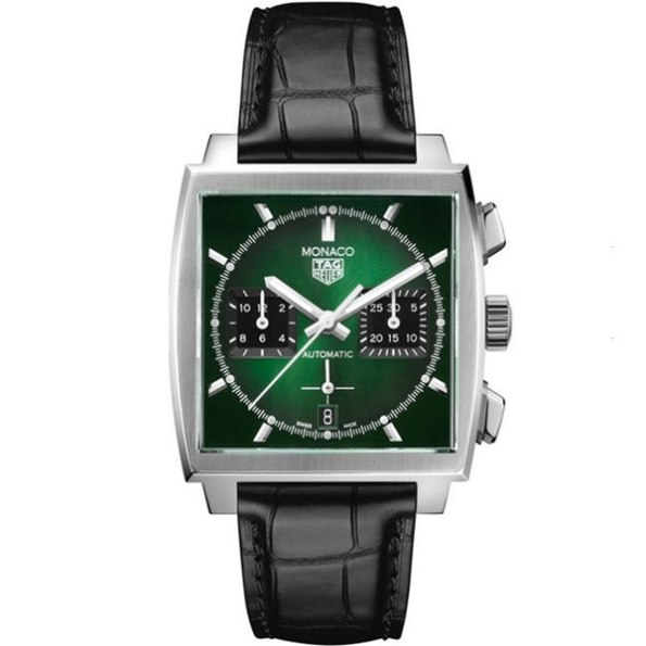 Replica TAG Heuer Monaco Green Dial Limited Edition CBL2116.FC6497 – TAG Heuer Clone Watches
