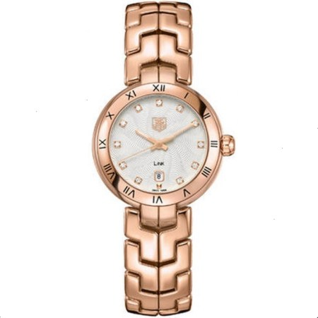 Replica TAG Heuer Link Lady Rose Gold WAT1441.BG0959 - TAG Heuer Clone Watches
