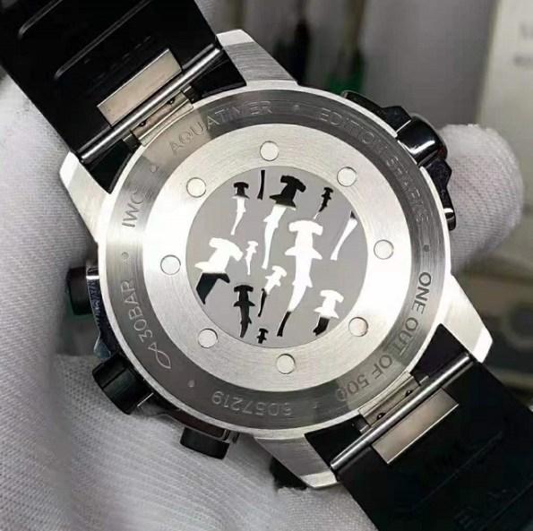 replica IWC Aquatimer Chronograph Edition Sharks