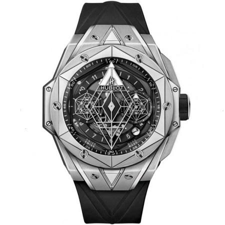Replica Hublot Big Bang Sang Bleu II Titanium 418.NX.1107.RX.MXM19 - Hublot Clone Watches