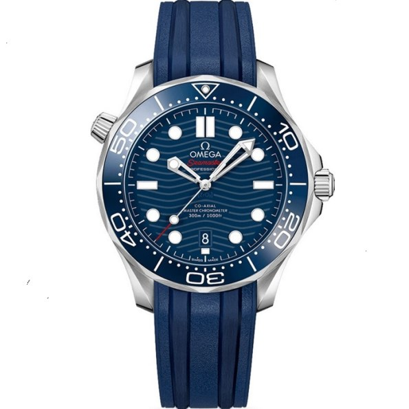 Replica Omega Seamaster Diver 300m 42mm Blue Dial 210.32.42.20.03.001 – Omega Clone Watches