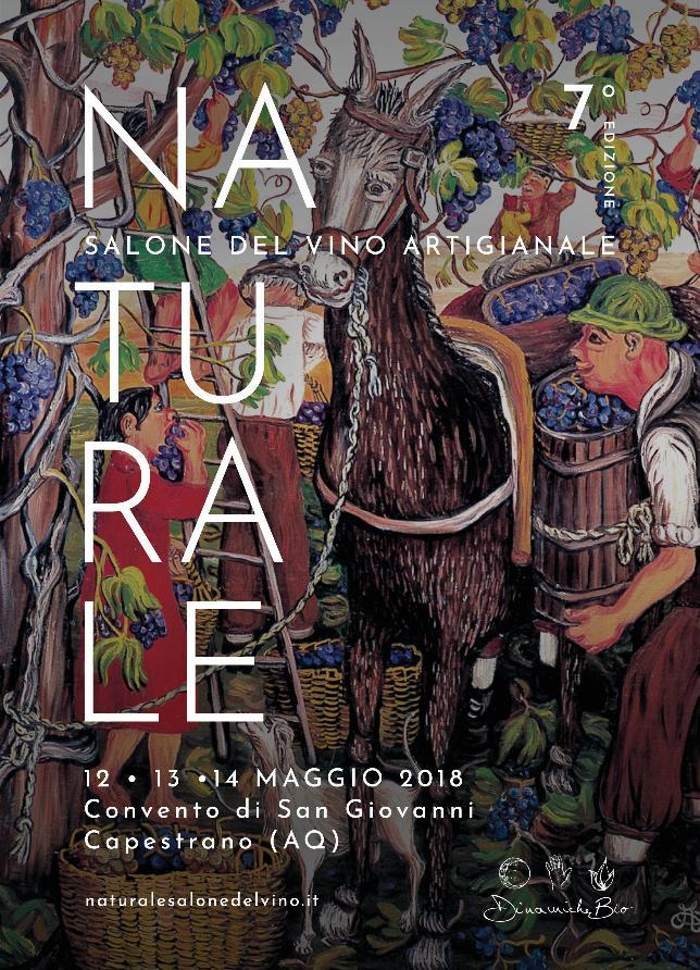 Naturale il primo salone del vino artigianale in Abruzzo 12-13-14 Maggio 2018