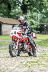 Hinrich Hinni Hinck auf Ducati Pantah (Foto Sabrina Adeline Nagel)