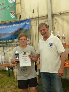 Leon Horn - Sieger Wissenstest (11-12 Jahre)