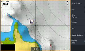 Bild (15) Test Navionics Sonarcharts Live angeln in norwegen Map ohne Tiedensymbol