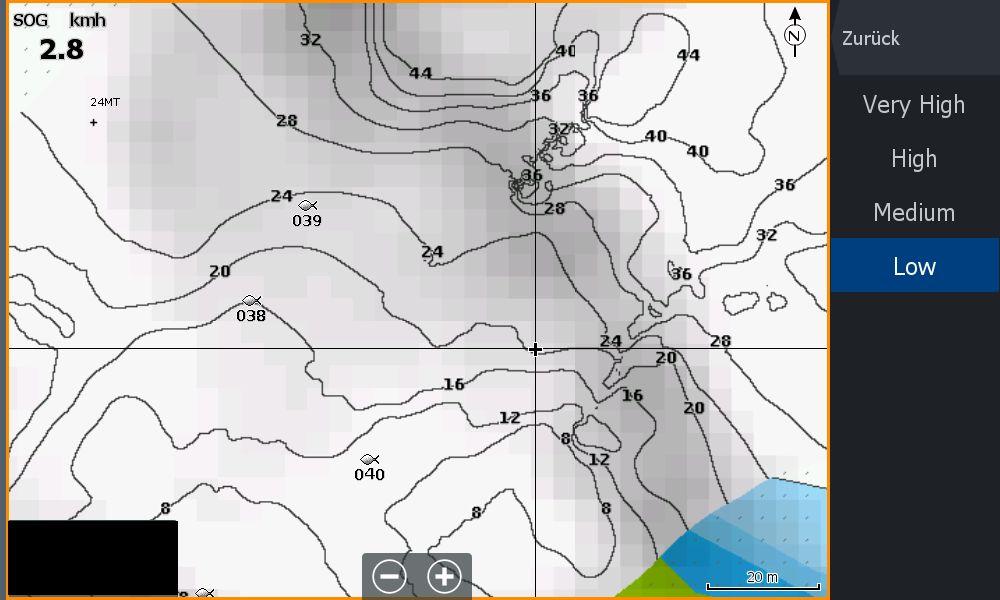 Bild (4) Test Navionics Sonarcharts Live angeln in norwegen SC Density