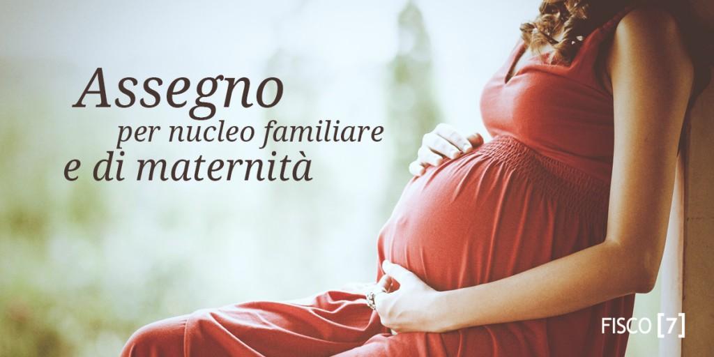 Risultati immagini per Assegno per il nucleo familiare e assegno di maternità