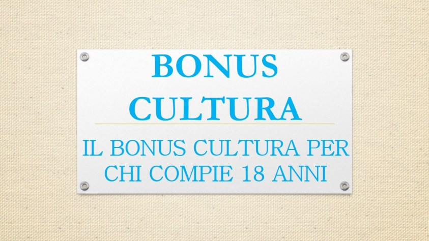 bonus cultura 2001, di 500 euro,