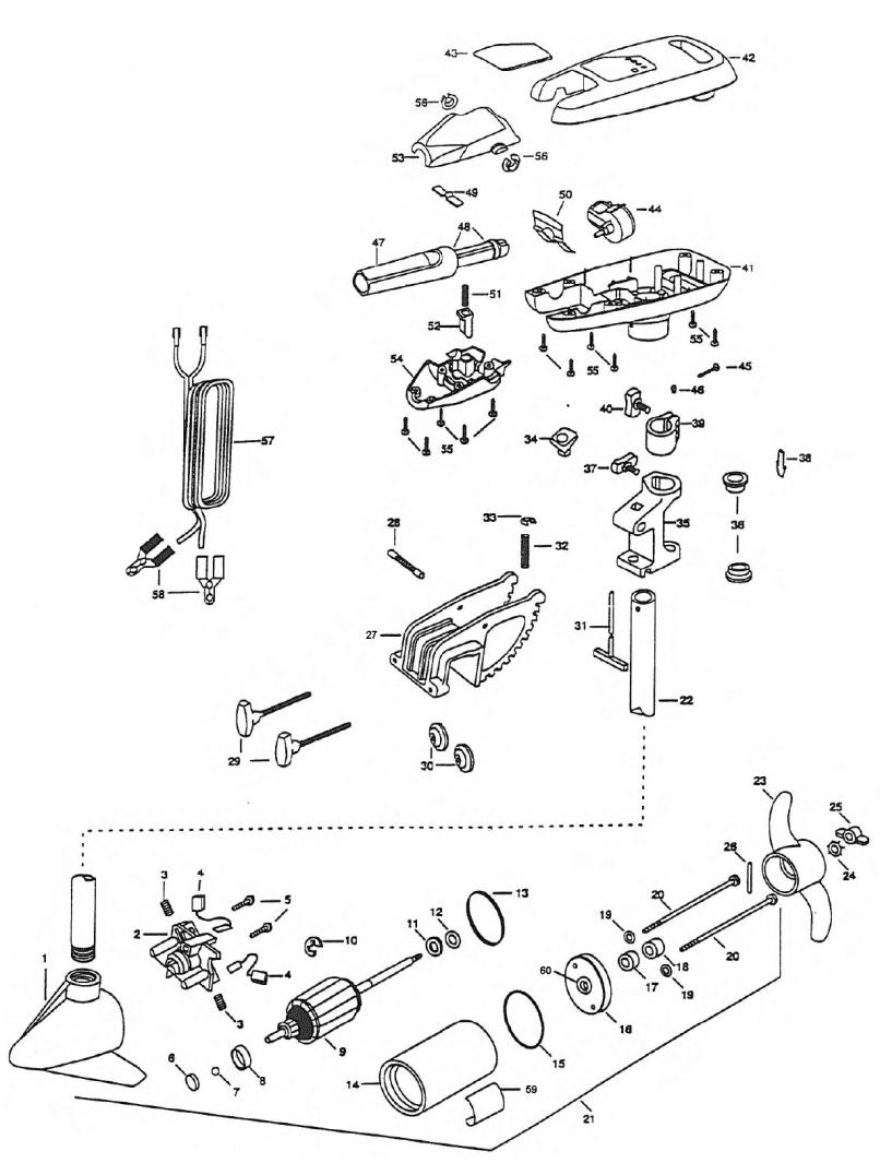 Minn Kota 35 Endura Parts Diagram Enthusiast Wiring Diagrams