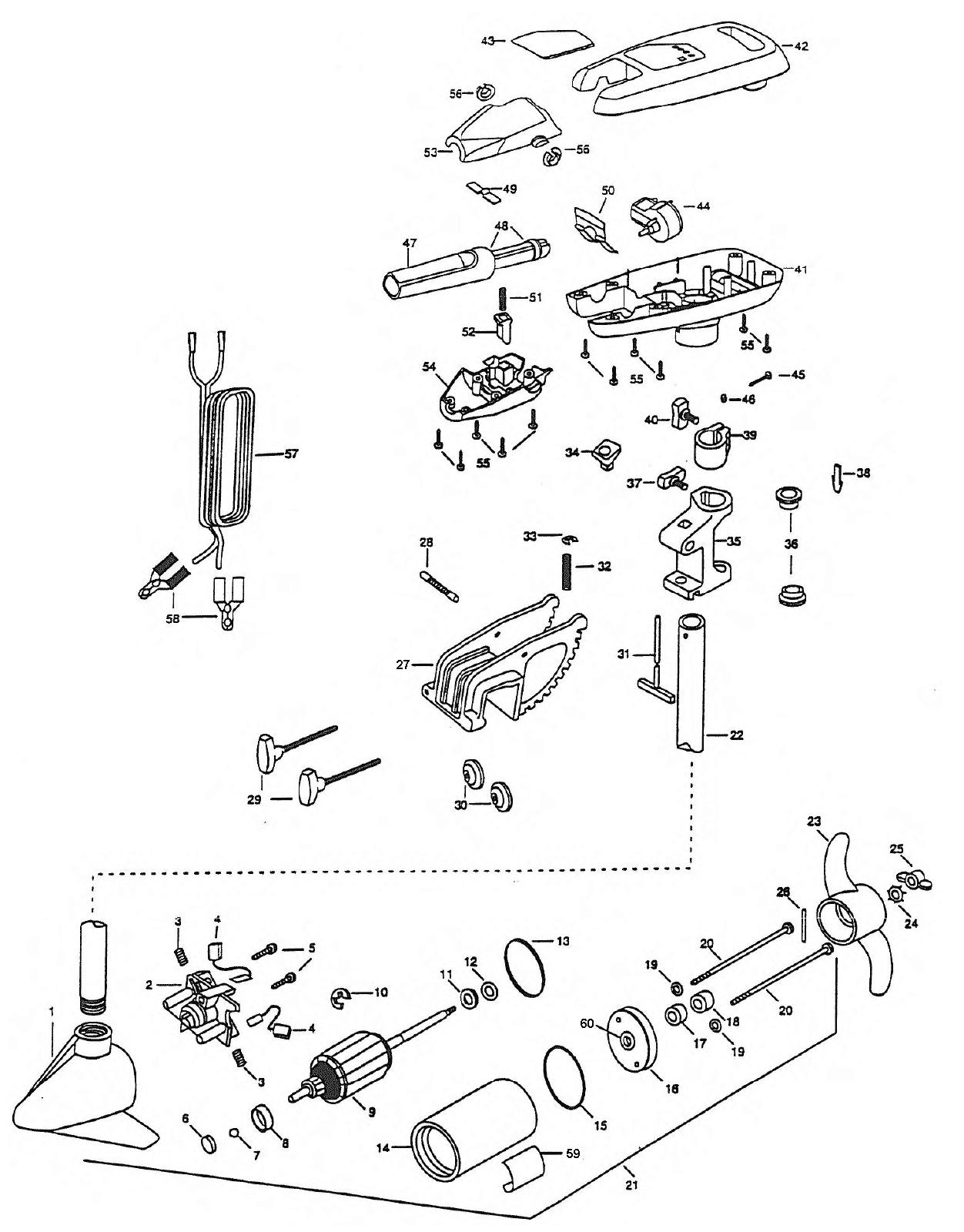 Minn Kota Turbo 40 Parts
