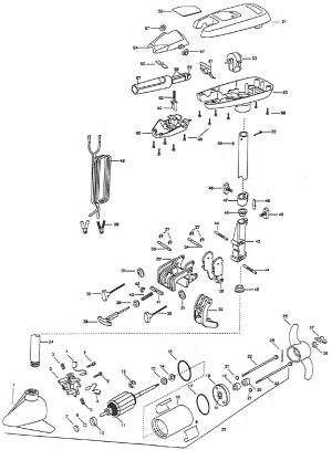 Minn Kota Riptide 36s Parts 1998 from FISH307