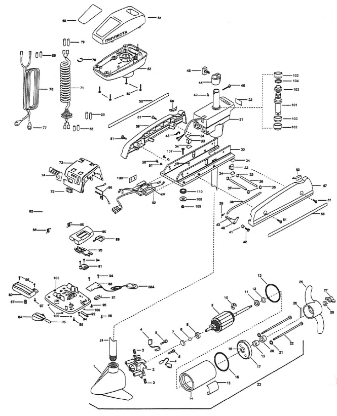 minn kota wiring diagram wiring diagram minn kota turbo 35 wiring diagram discover your johnson 1224 trolling motor