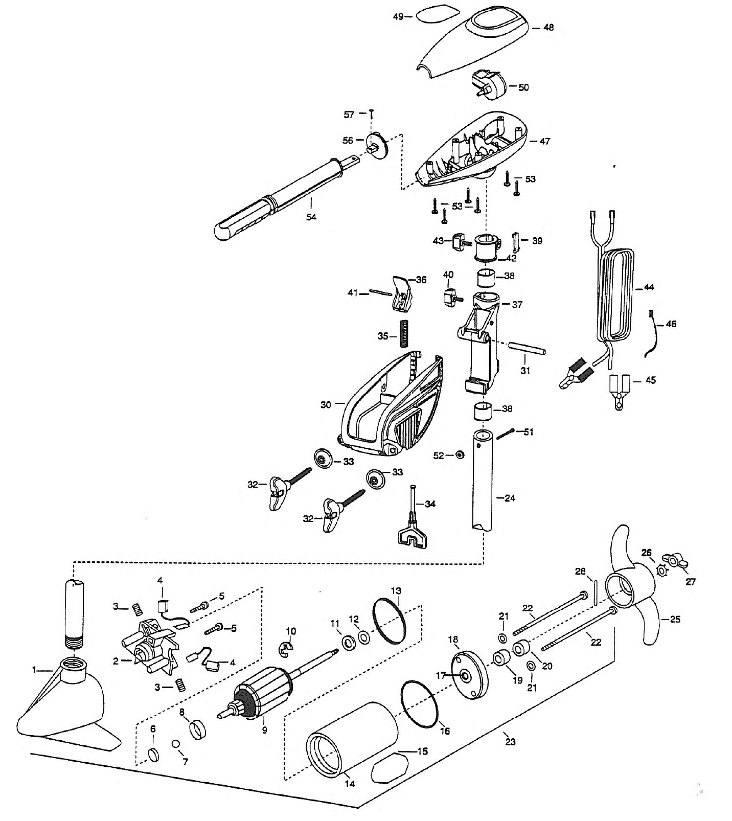 Wiring Diagram For Minn Kota Trolling Motors