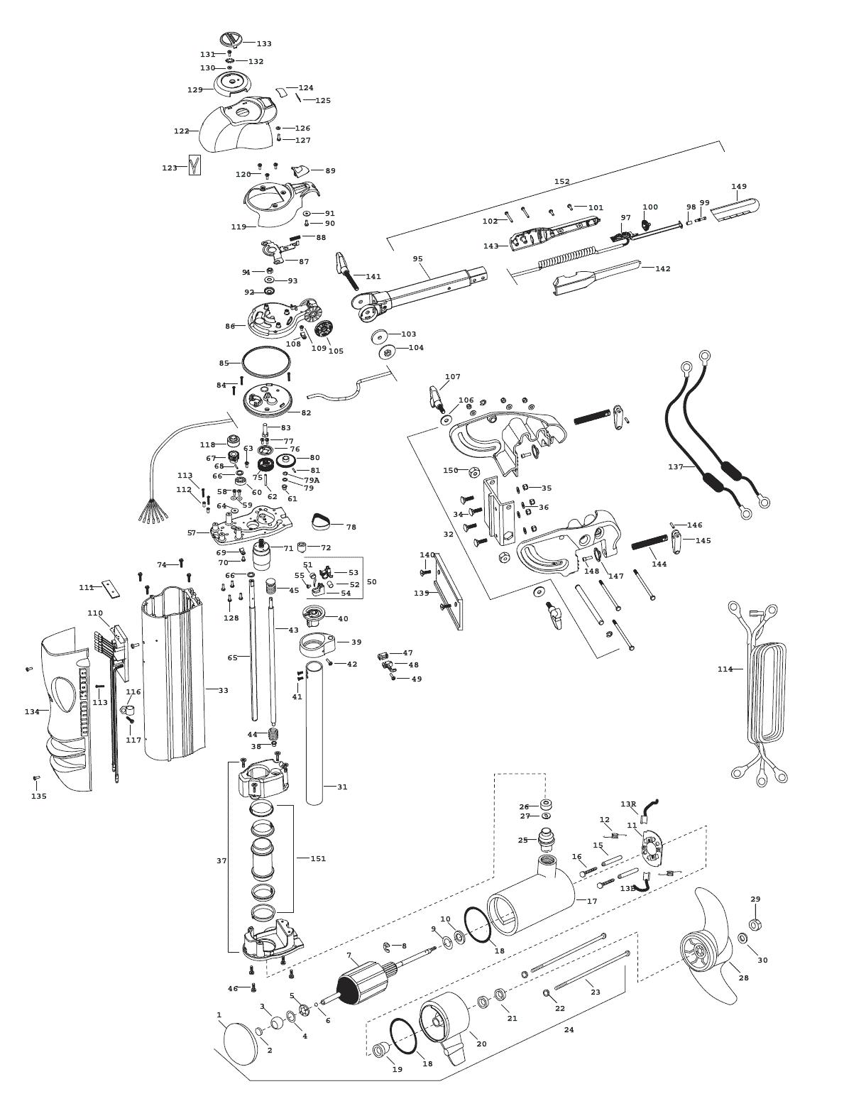 Minn Kota Vantage 101 Parts