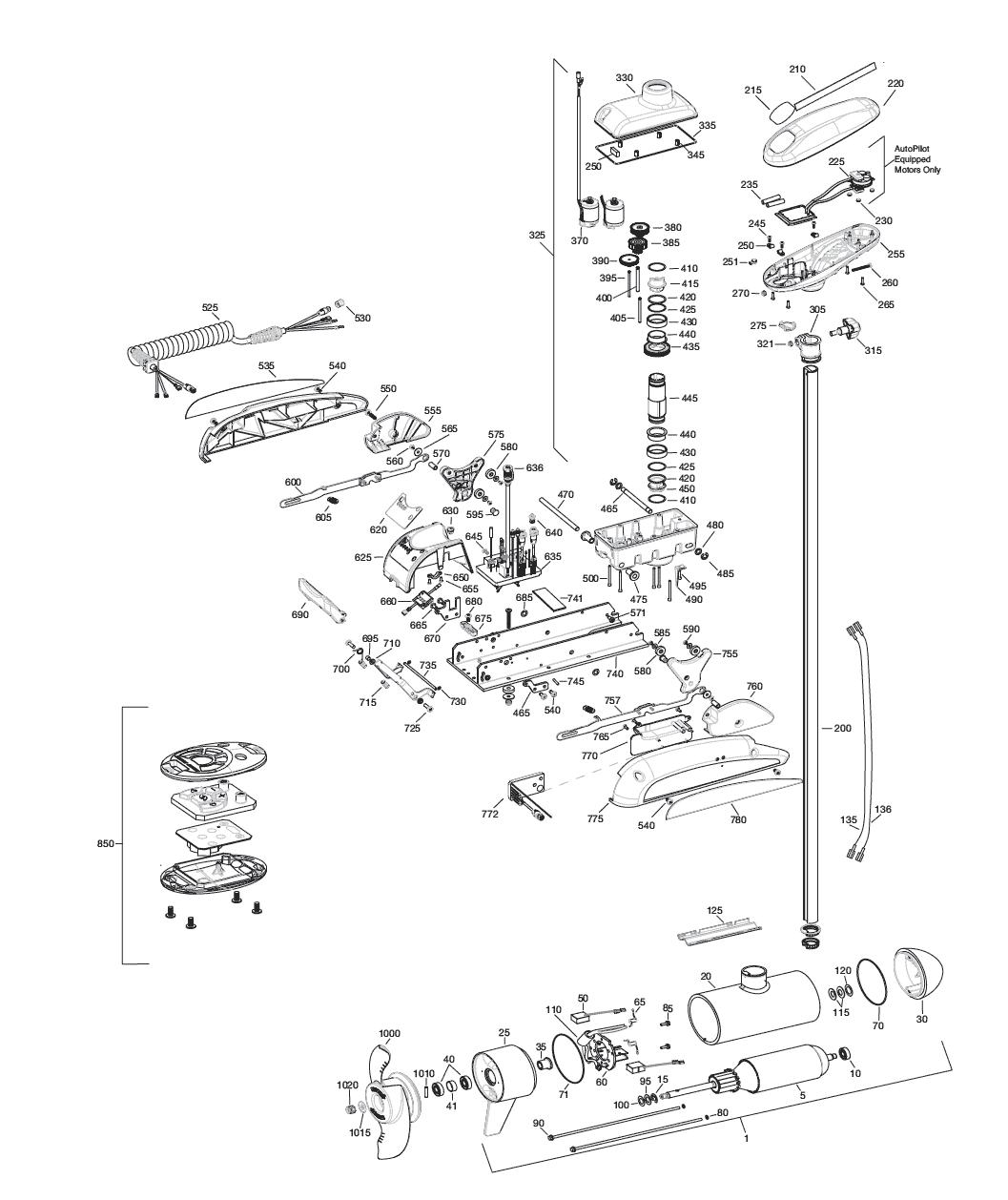 Minn Kota Riptide 112 St Parts