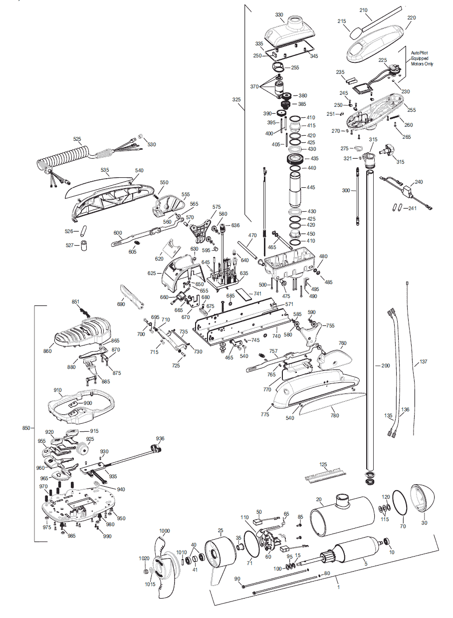 Wiring Diagram For Minn Kota Power Drive : 40 Wiring