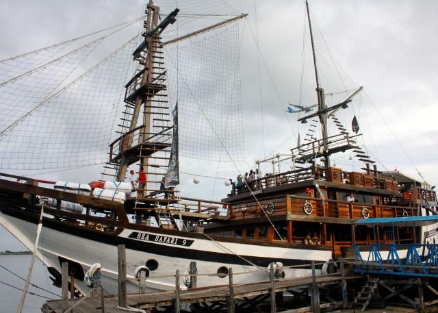 巴厘岛海盗船