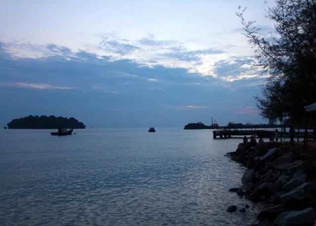 马来西亚波德申海滩和景点