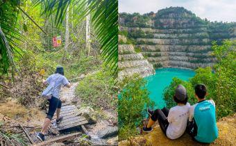 登山系列|BMC Blue Lake (Bukit Enggang)矿山碧蓝湖探险记