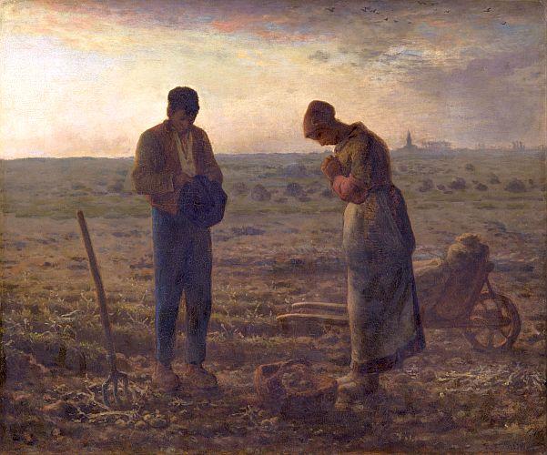 The Angelus, Jean-Francois Millet, 1859