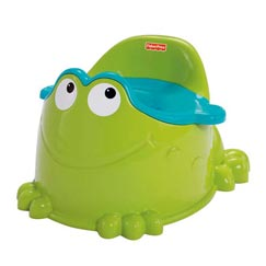 Easy on and easy off. Froggy makes it fun!