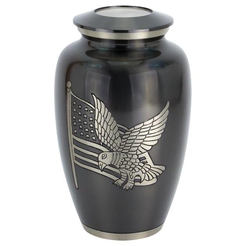 American Pride Brass Urn