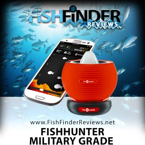 FishHunter Military Grade portable Fish Finder