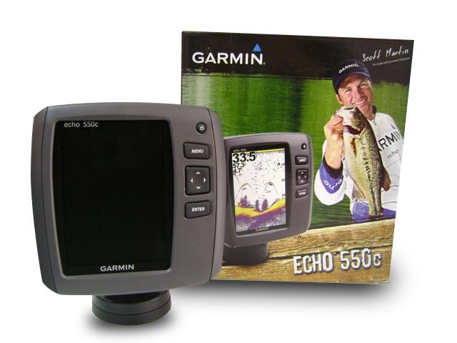 Garmin Echo 550c FishFinder