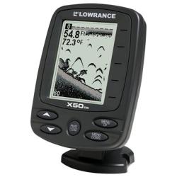 Lowrance X50 DS fish finder / depth finder