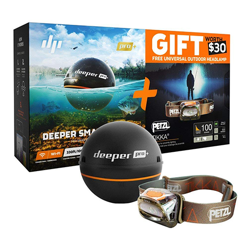 deeper fish finder with gift