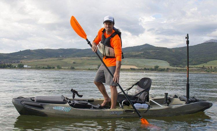 mount fish finder