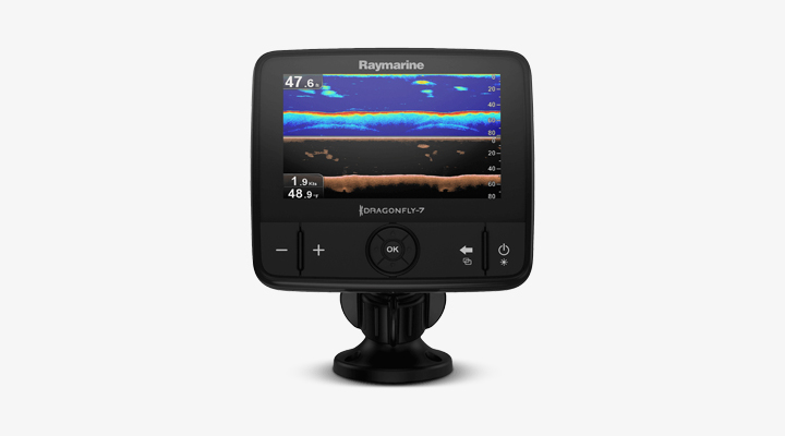 Raymarine Dragonfly 7 Navionics+ CHIRP with built in GPS and WiFi Review