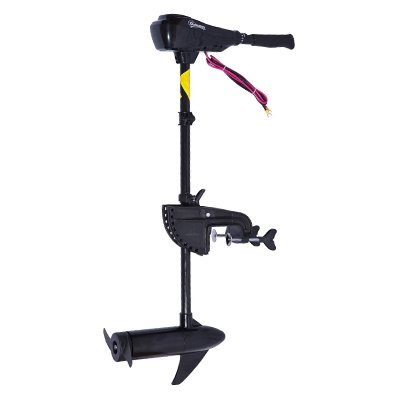 Outsunny 12V Transom Mounted 55lb Thrust Electric Fishing Boat Trolling Motor