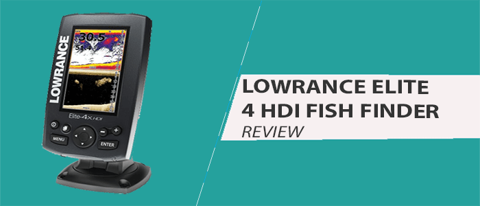 Lowrance Elite 4 HDI Review: Amazing Transom Mount Transducer