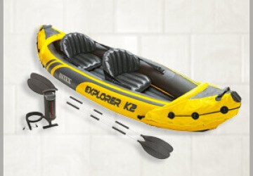 Intex Explorer K2 Kayak Review, Intex Explorer K2 Kayak