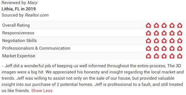 Jeff Gould Realtor.com Testimonial_Mary
