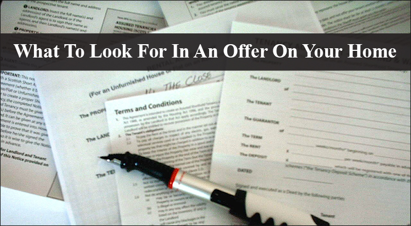 What To Look For In An Offer On Your FishHawk Ranch Home