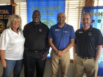 Hart & Soul Director Roberta Barker, CEO & Founder Donald Hart, Ali Qizilbash and Hart & Soul Mentor Kevin Craig