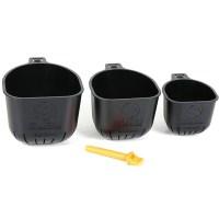 Coppette Rapid Release Pole Cups GURU (3 pezzi)