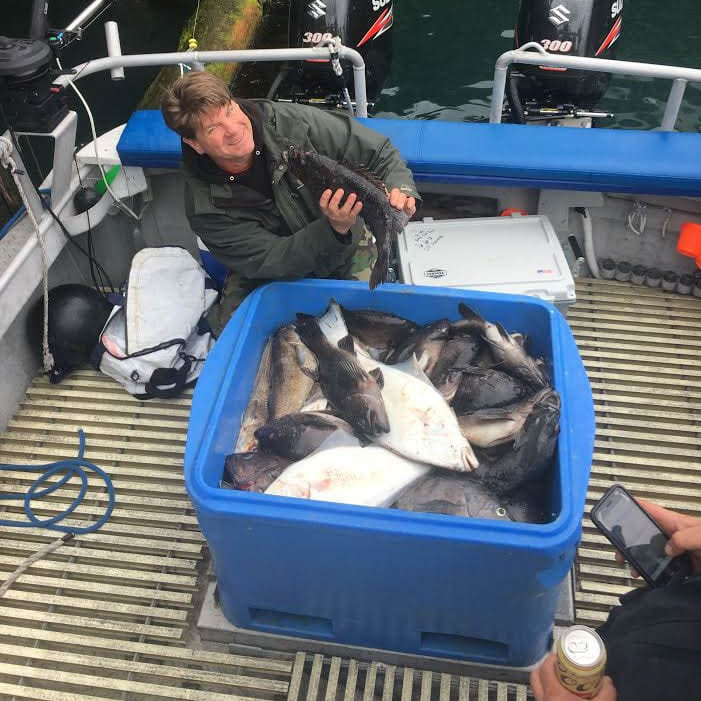 Kodiak Island Fishing Charter with Local Kodiak CoHo Electric in Alaska