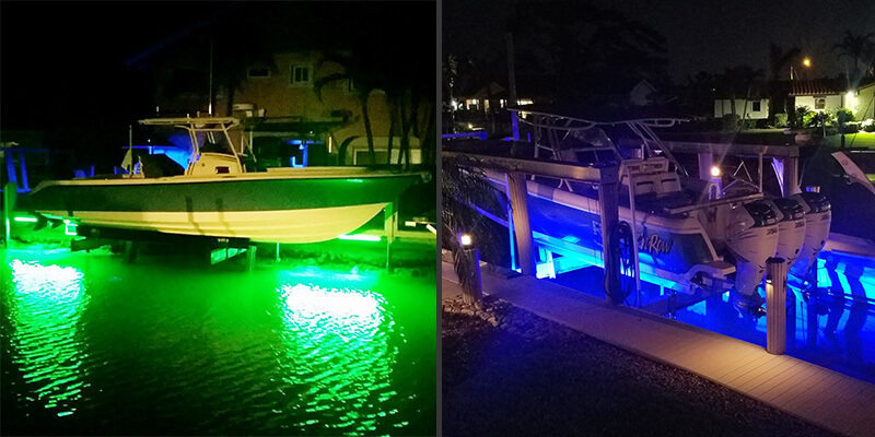 does color matter for fishing lights