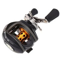 Docooler® 10BB 6.3:1 Left/Right Hand Bait Casting Fishing Reel 9Ball Bearings + One-way Clutch High Speed